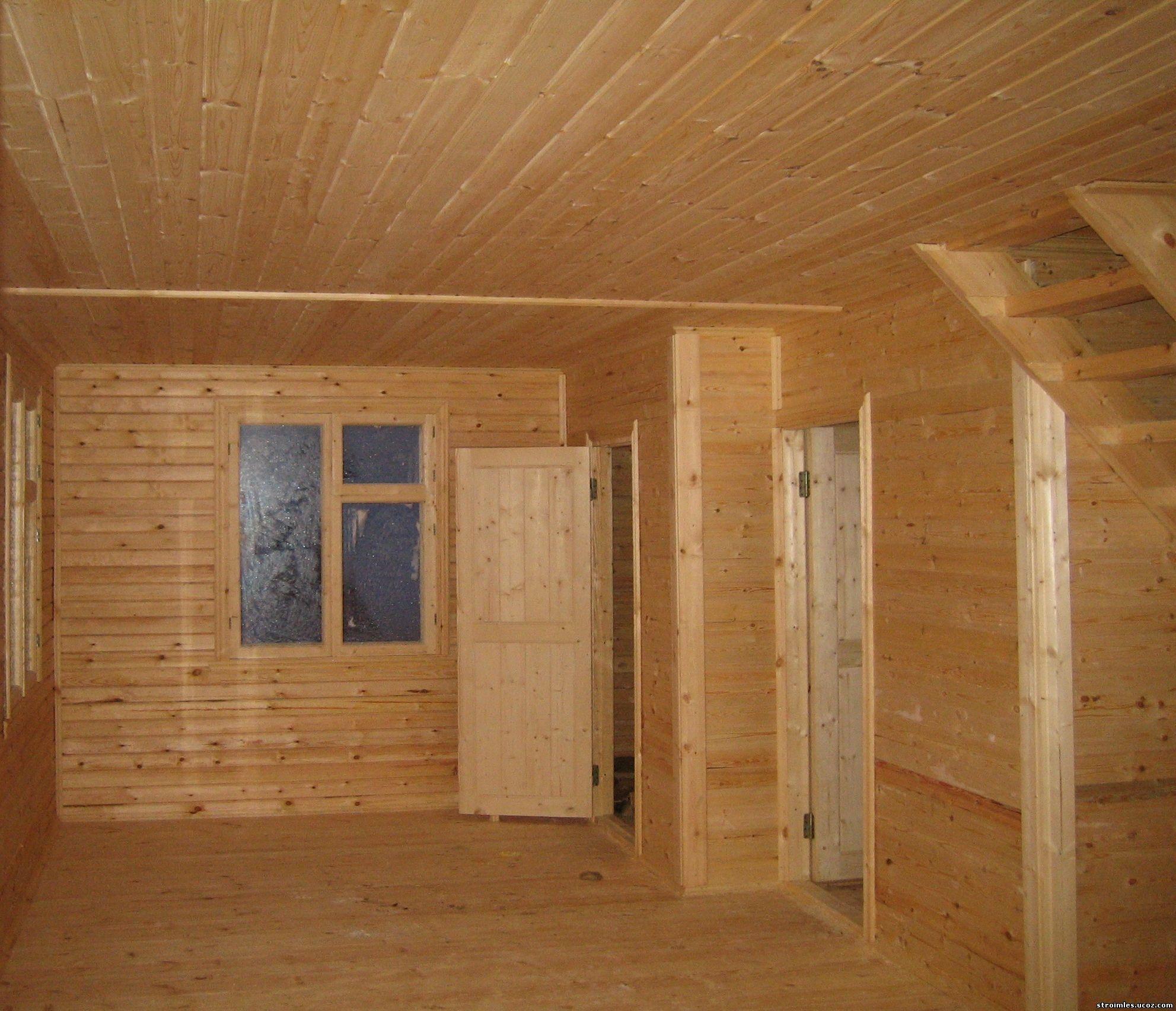 Потолок из шпунтованной доски своими руками 44